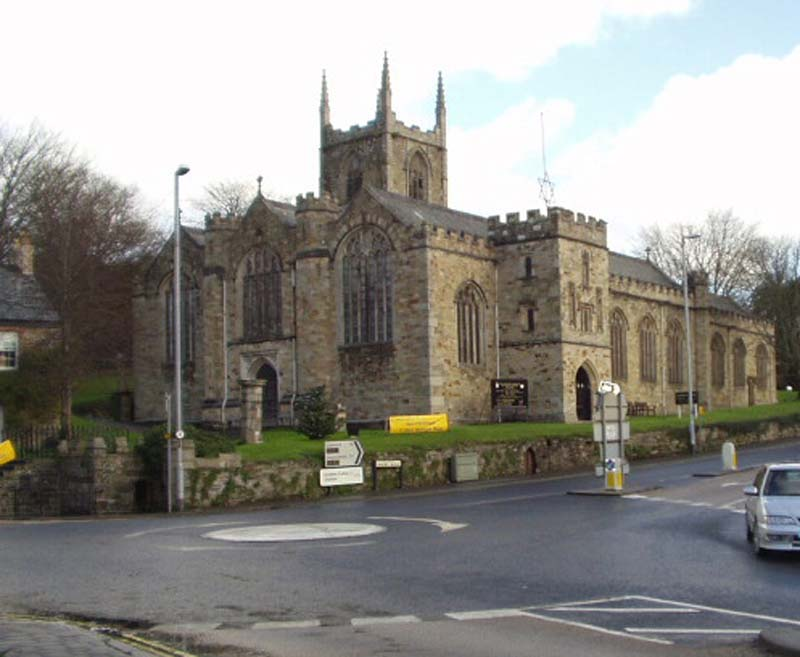 Bodmin - Parish Church