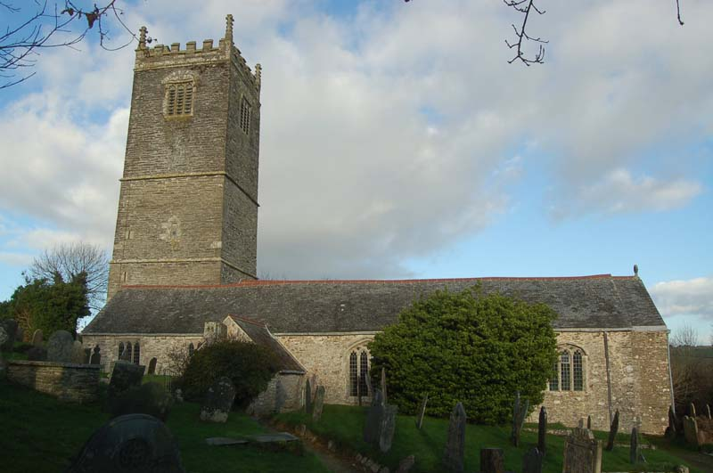 Lanteglos by Fowey - Parish Church