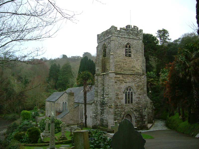 St Just in Roseland - Parish Church