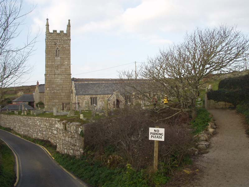 St Levan - Parish Church